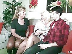 Threesome xxx videos - free mom sex